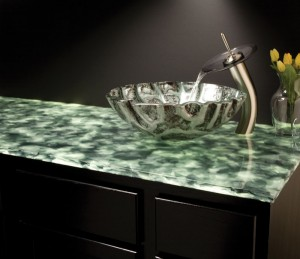 Backlighting countertops with led light panels evo lite glass mozeypictures Image collections