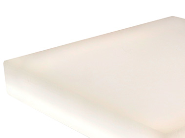 LumiFrost custom edge-lit LED light panel with diffuser for backlighting