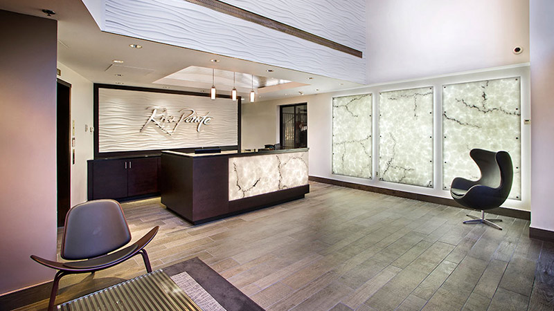 & Architectural Lighting Trend: Backlit Reception Areas | Evo-Lite azcodes.com